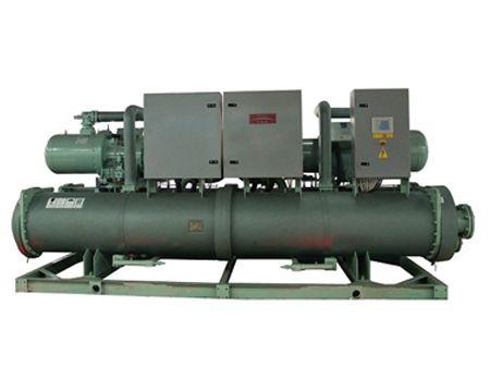 满液式地源热泵机组