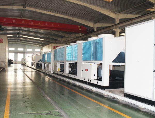 中大集团空调机组生产线